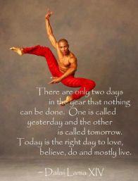 Dalai Lama Right Day