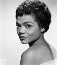 Singer and Actress Eartha Kitt ca. 1950s